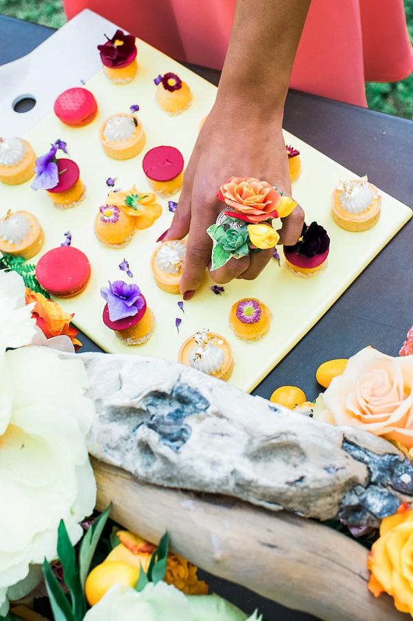 mini wedding deserts