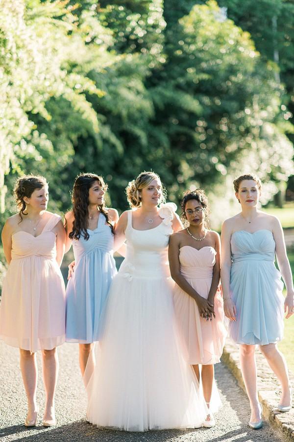 mixmatch bridesmaid dresses