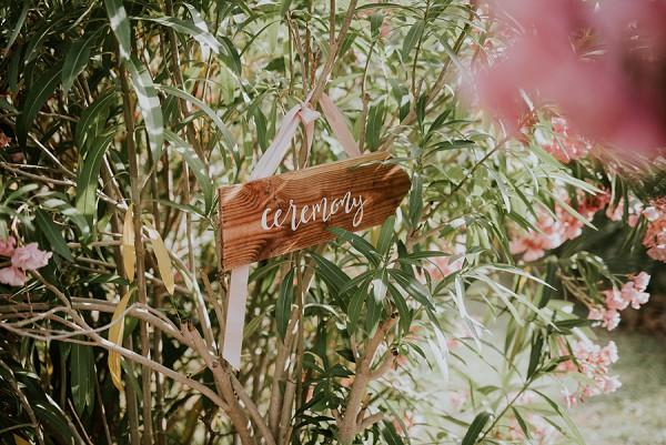 outdoor ceremony details