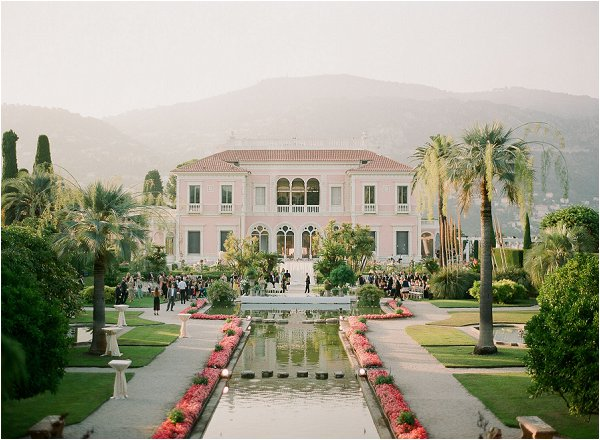wedding venue French Riviera