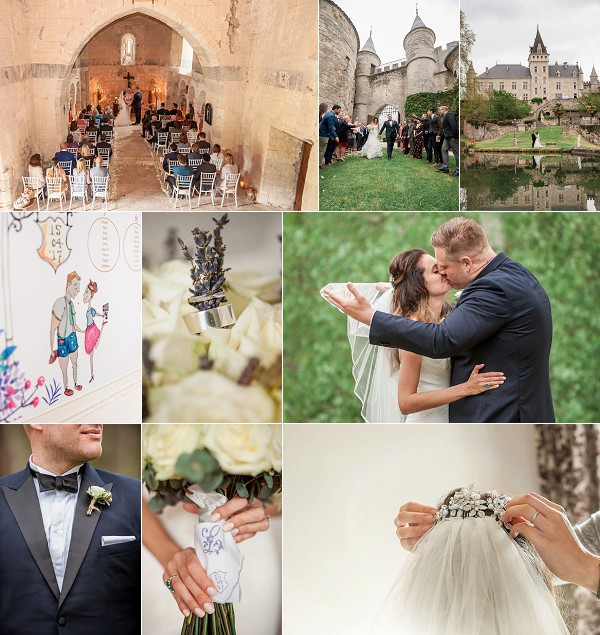 A Relaxed Family Inspired Chateau de Lisse Wedding Snapshot