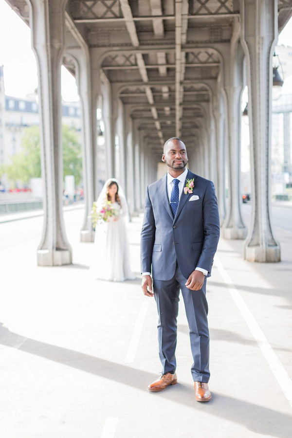 Champs Elysées Wedding Photos