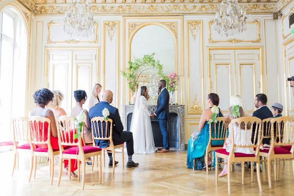 Champs Elysées Wedding
