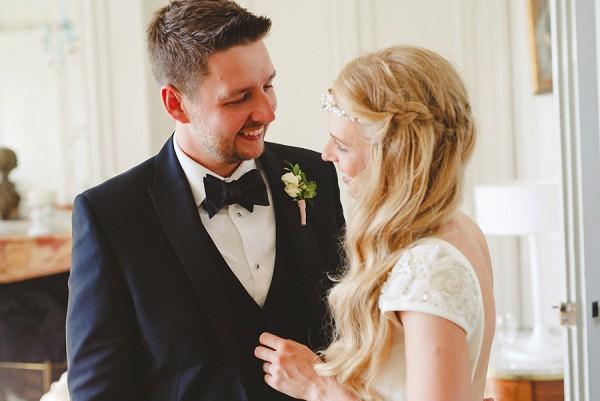 Chateau Black tie wedding