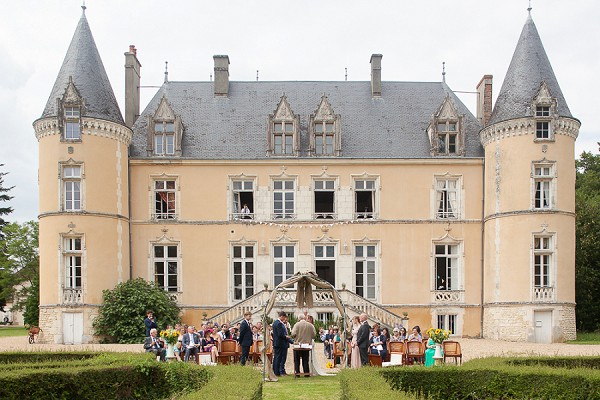 Chateau Outdoor Wedding