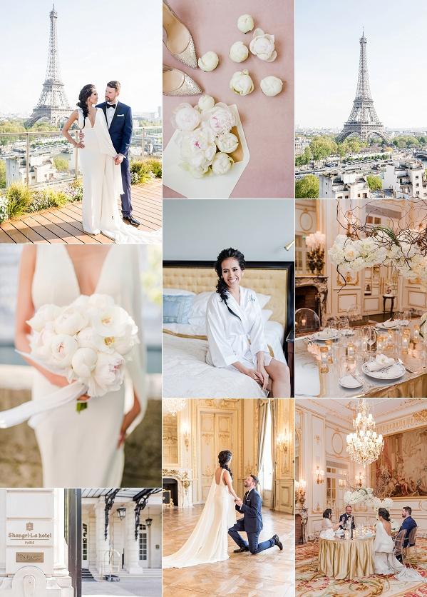 Fashion Forward Luxury Paris Elopement Snapshot