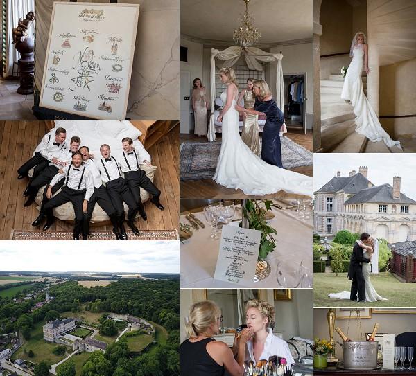 Love Filled Weekend Wedding Chateau de Vallery Snapshot