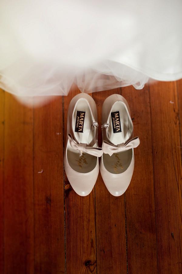 Martha Jonsson wedding shoes