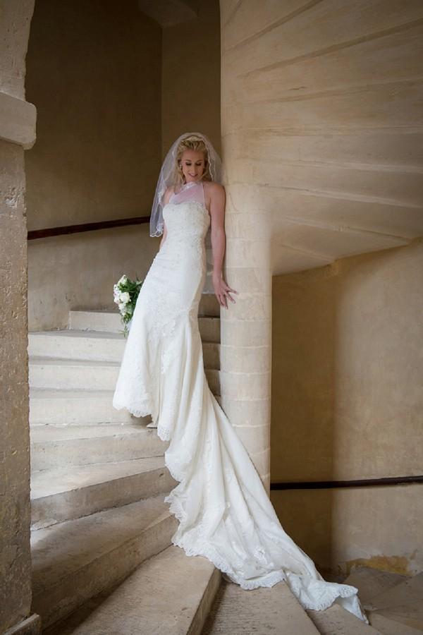 Pronovias french wedding