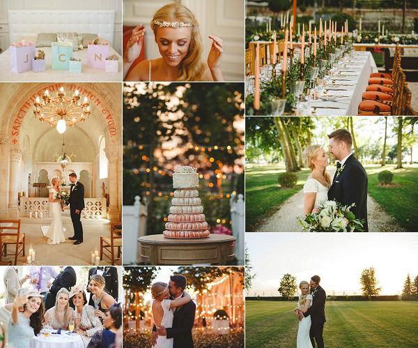 Timeless Destination Chateau de Varennes Wedding Snapshot