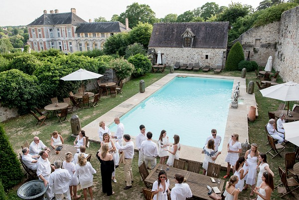 chateau pool party