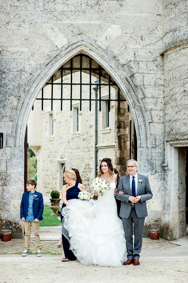 chateau wedding ceremony