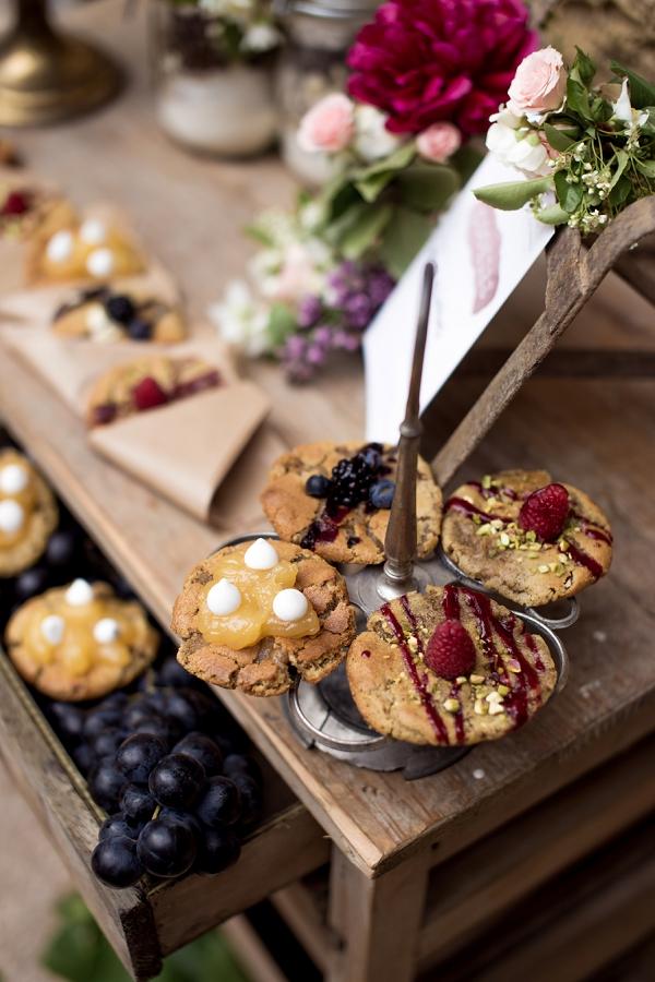 cookie wedding desert