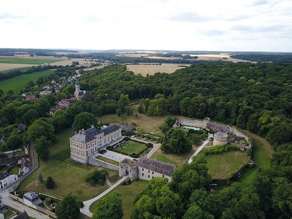 countryside french wedding venue