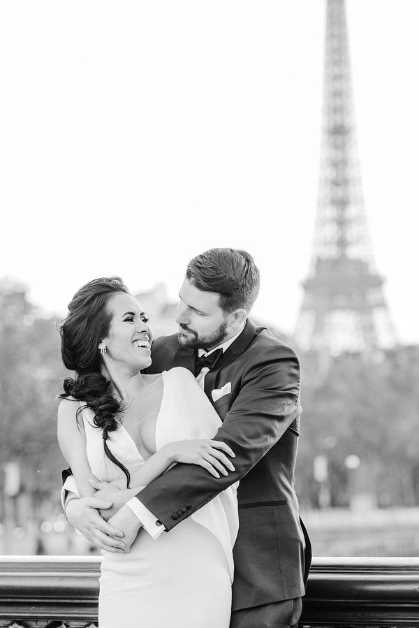 eiffel tower inspired wedding