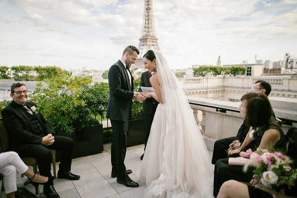 eiffel tower view ceremony