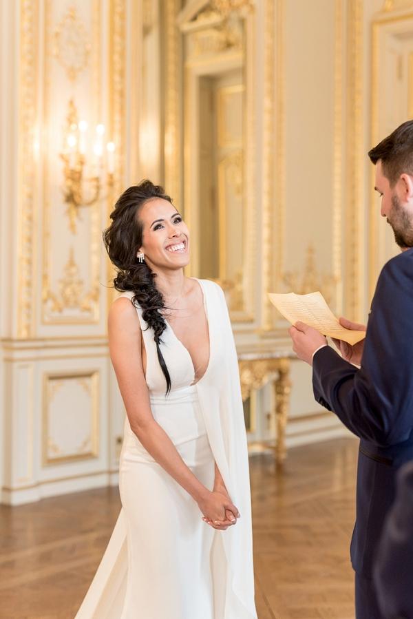 elegant bride Paris