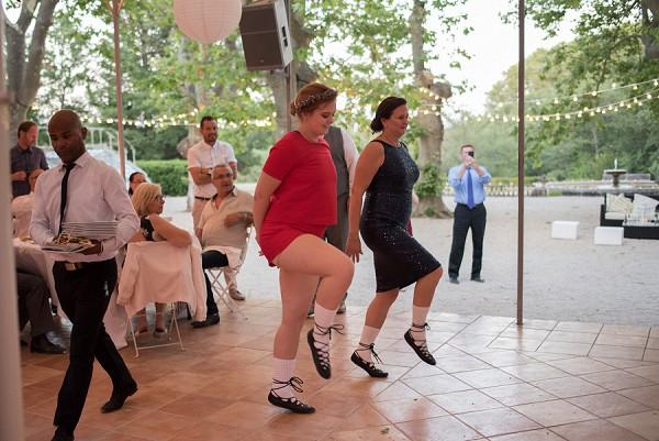 irish dancing wedding