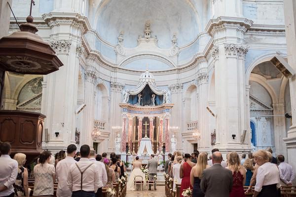 luxury church wedding