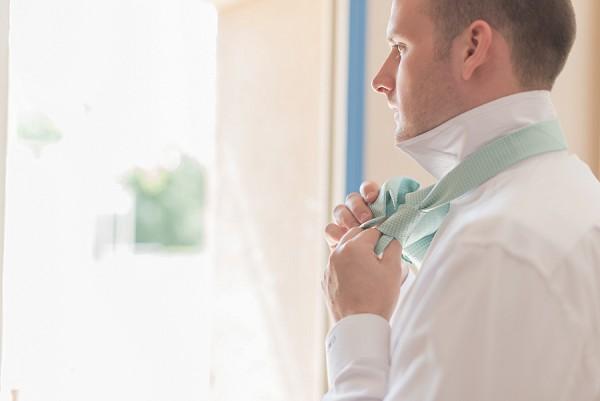 pastel green wedding colour
