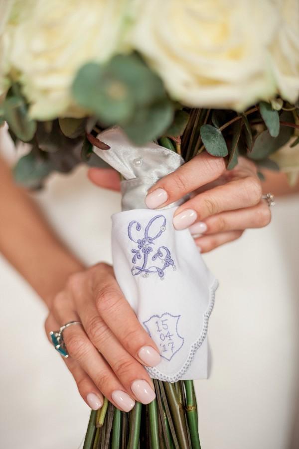 personalised wedding napkin