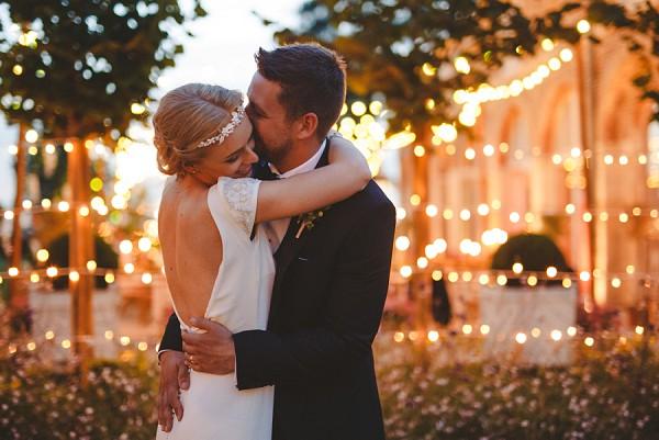 romantic chateau de varennes wedding