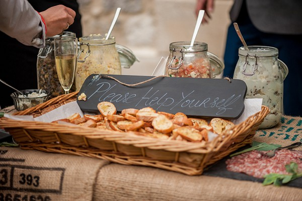 wedding sharing platters