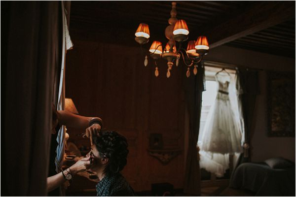 destination wedding in a chateau madame A photographie
