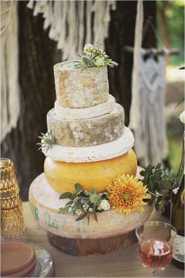 Ten French Inspired Wedding Catering Ideas Cheese Wedding Cake