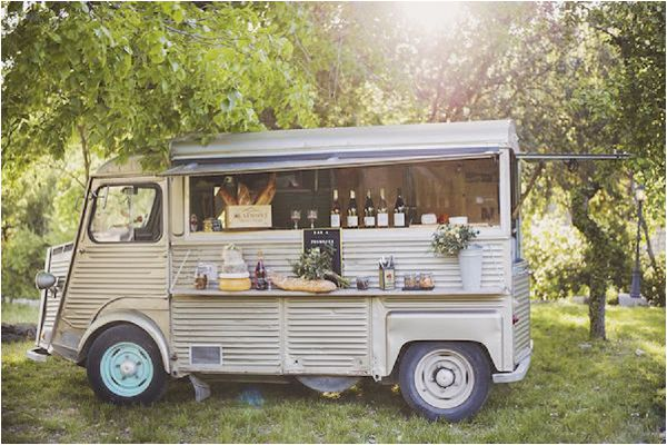 French Inspired Wedding Catering Ideas Food Truck