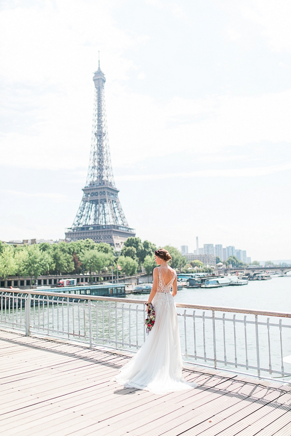 BHLDN Paris bride
