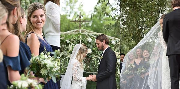 Chateau Lagorce Wedding ceremony