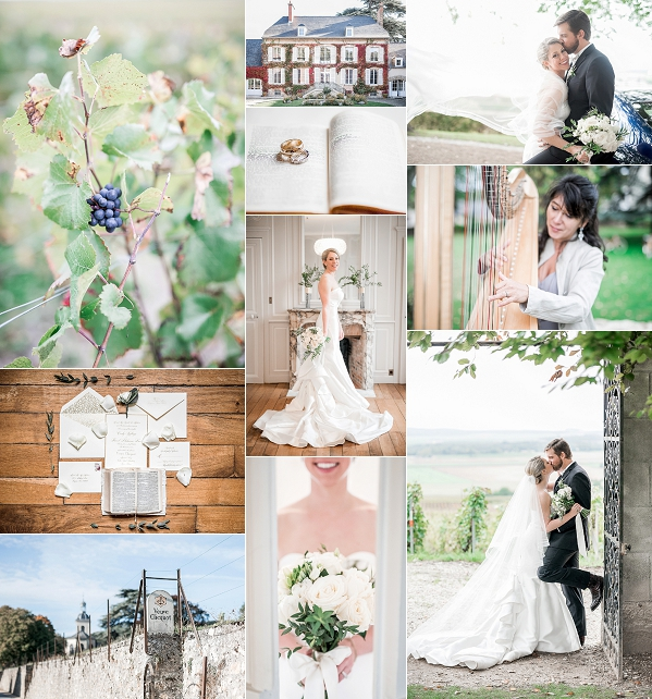Classic Vineyard Wedding in Champagne Snapshot