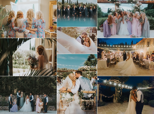 French Riviera Wedding Day Of Childhood Sweethearts Snapshot