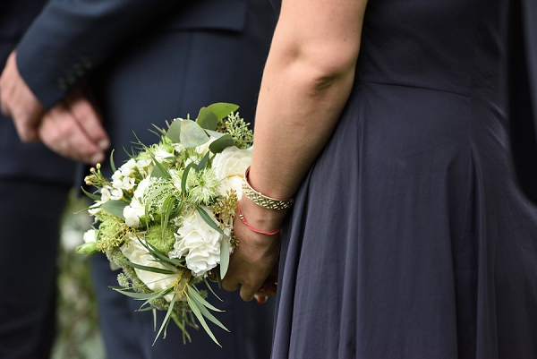 Greenery bridesmaid bouquets