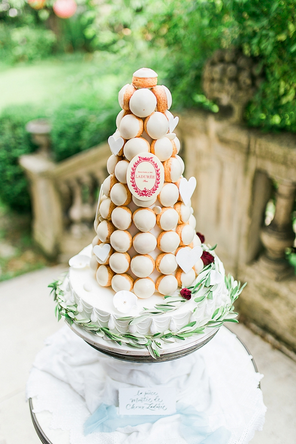 Laduree wedding tower