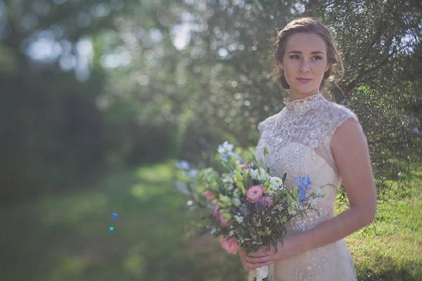 Martine Toledano bride