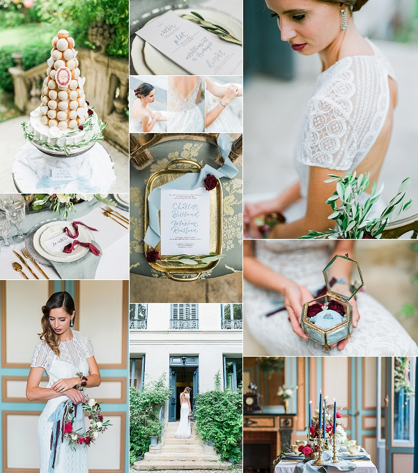 Old World Romance Parisian Wedding Inspiration Snapshot