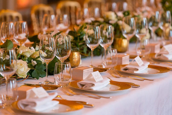 Sumptuous wedding styling