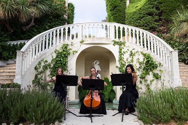 Villa Ephrussi de Rothschild wedding ceremony