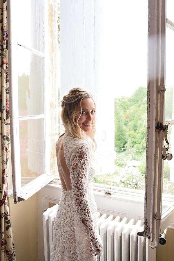 boho look bride