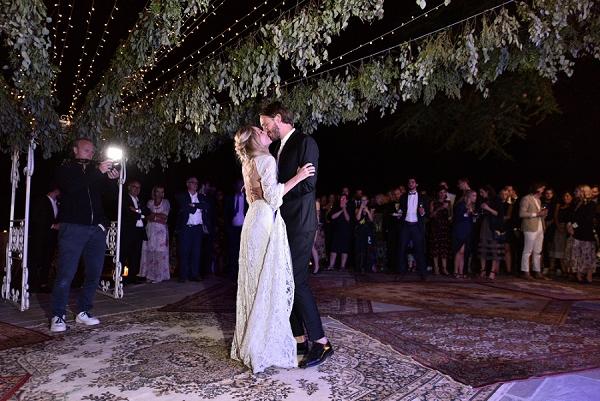 dance under the stars wedding