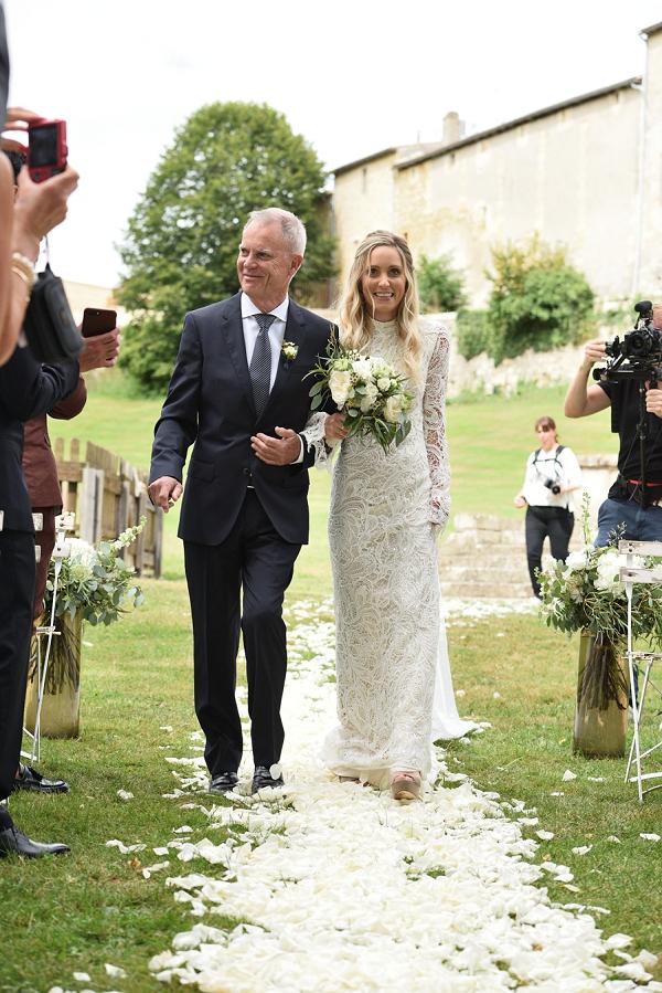 elegant Chateau Lagorce wedding