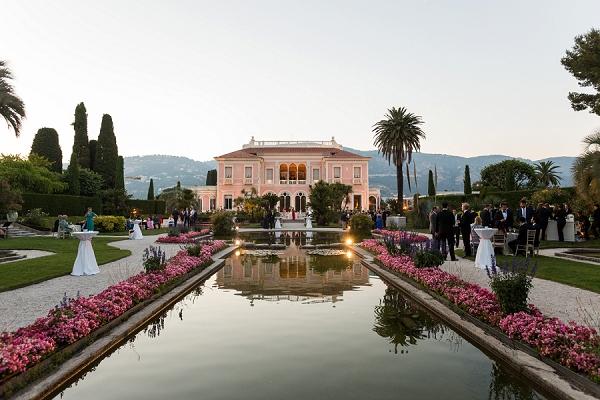 elegant french riviera wedding venue
