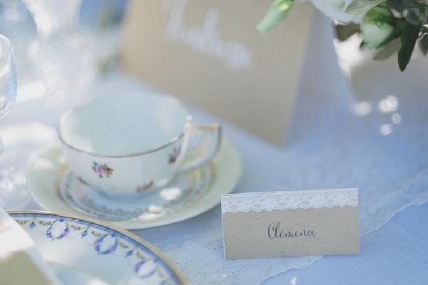 lace inspired wedding stationery