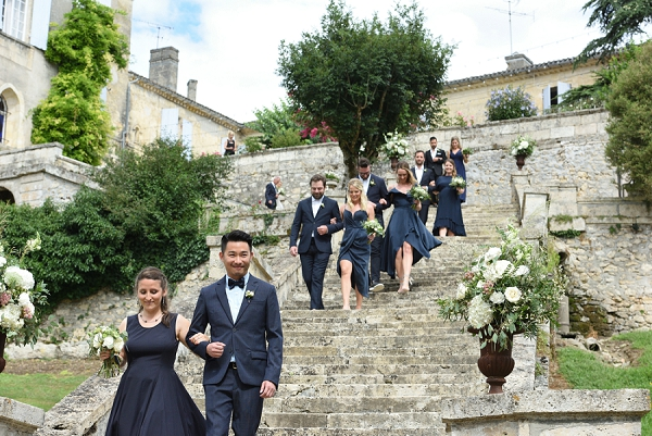navy wedding guest outfits