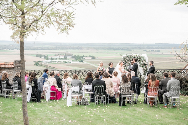 real life vineyard wedding