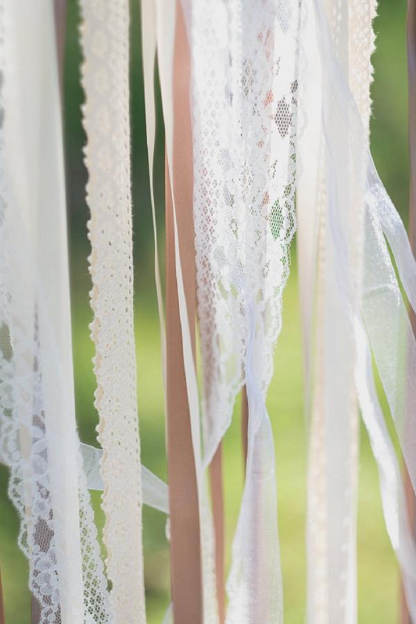 ribbon wedding details