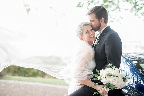 veil wedding photo