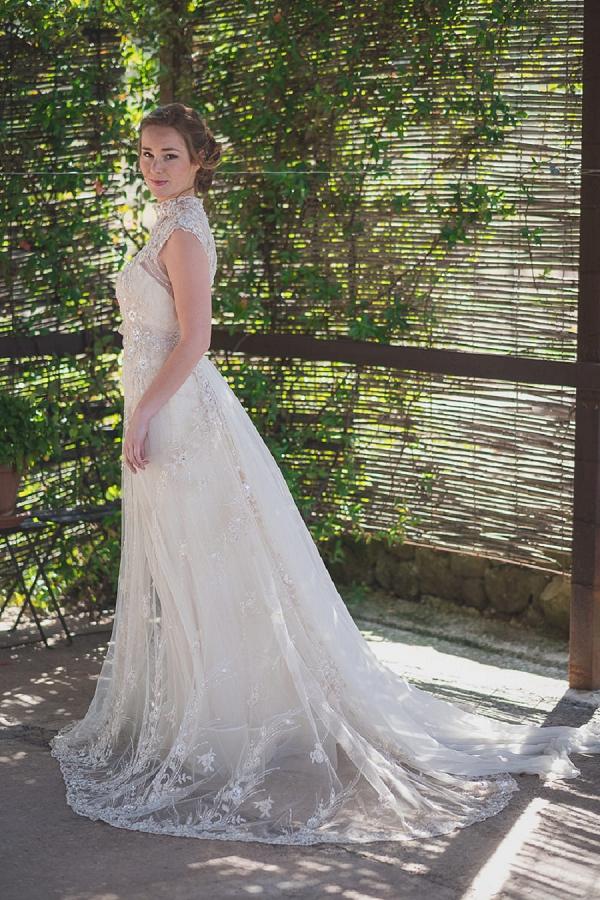 vintage inspired wedding dress